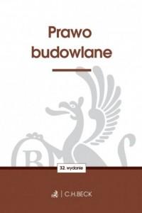 Prawo budowlane - okładka książki