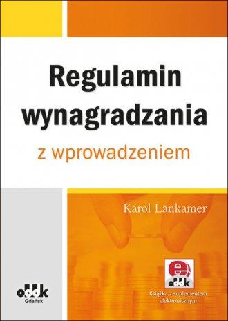 Regulamin wynagradzania z wprowadzeniem - okładka książki