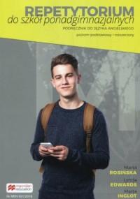 Repetytorium do szkół ponadgimnazjalnych Podręcznik do języka angielskiego Poziom podstawowy i rozszerzony. B1/B2 - okładka podręcznika