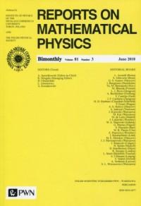 Reports on Mathematical Physics 81/3 2018 Kraj - okładka książki
