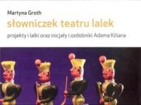 Słowniczek teatru lalek - okładka książki
