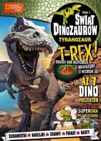 Świat Dinozaurów cz. 1 Tyranozaur - okładka książki