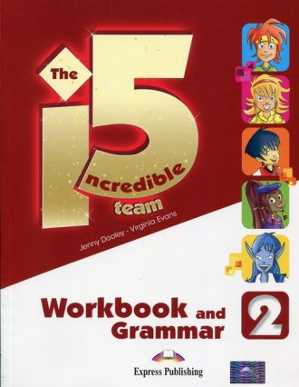 The Incredible 5. Team 2. Workbook - okładka podręcznika
