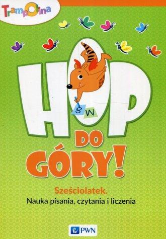Trampolina Hop do góry! Sześciolatek - okładka podręcznika