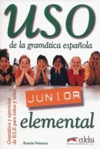 Uso de la gramatica espanola Junior elemental - okładka podręcznika