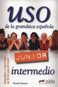 Uso de la gramatica espanola Junior intermedio - okładka podręcznika