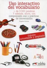 Uso interactivo del vocabulario nivel A-B1 - okładka podręcznika