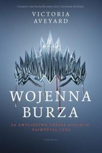 Wojenna burza - okładka książki