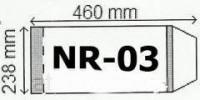 Okładka na podr B5 regulowana nr 3 (25szt) - zdjęcie produktu