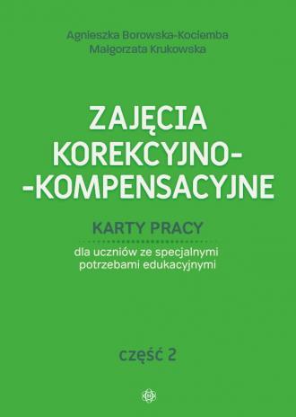 Zajęcia korekcyjno-kompensacyjne. - okładka książki