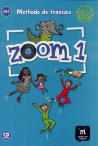 Zoom 1. Podręcznik (+ CD) - okładka podręcznika