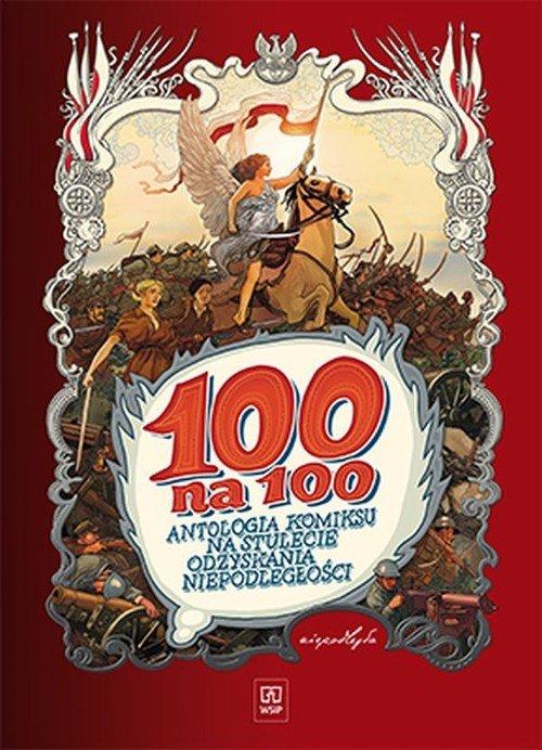 100 na 100. Antologia komiksu na - okładka książki