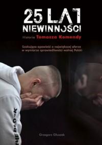 25 lat niewinności - okładka książki