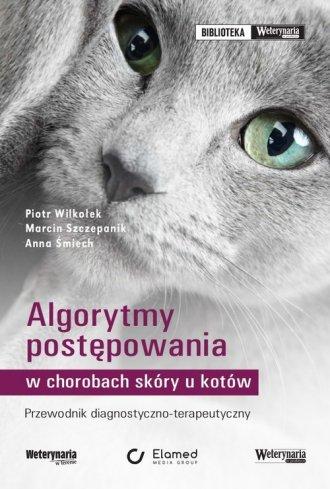 Algorytmy postępowania w chorobach - okładka książki