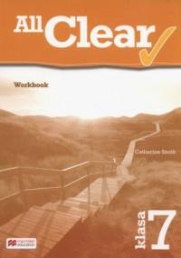 All Clear 7 Workbook - okładka książki