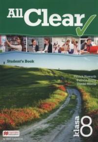 All Clear 8. Szkoła podstawowa. - okładka podręcznika