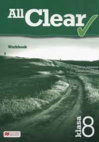 All Clear 8. Szkoła podstawowa. Workbook - okładka podręcznika