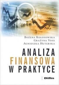 Analiza finansowa w praktyce - okładka książki