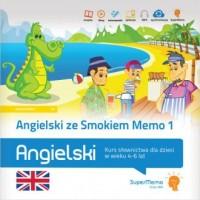 Angielski ze Smokiem Memo 1. Kurs słownictwa dla dzieci w wieku 4-6 lat - okładka podręcznika