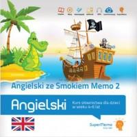 Angielski ze Smokiem Memo 2. Kurs słownictwa dla dzieci w wieku 4-6 lat (poziom podstawowy A0) - okładka podręcznika