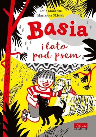 Basia i lato pod psem - okładka książki