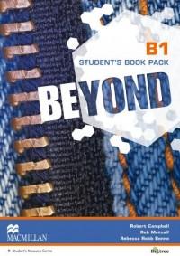 Beyond B1. Książka ucznia - okładka podręcznika