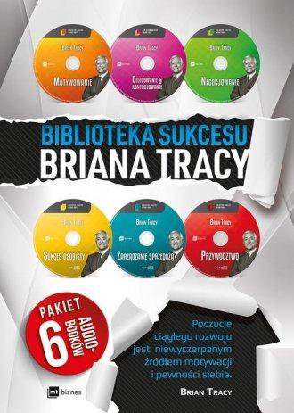 Biblioteka sukcesu Briana Tracy. - pudełko audiobooku