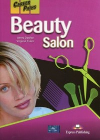 Career Paths Beauty Salon Students Book + DigiBook - okładka podręcznika
