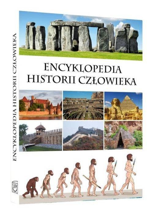 Encyklopedia historii człowieka - okładka książki