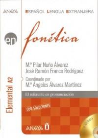 Fonetica elemental A2 (+ klucz + 2 CD) - okładka podręcznika
