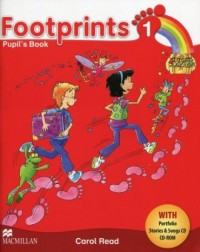 Footprints 1 Książka ucznia + Portfolio (+ 2CD) - okładka podręcznika