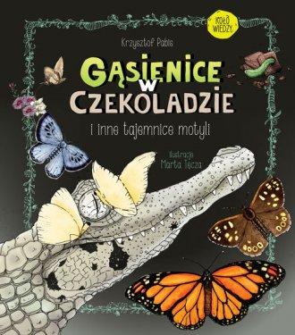 Gąsienice w czekoladzie i inne - okładka książki