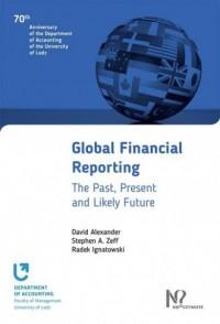Global Financial Reporting - okładka książki