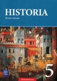 Historia 5. Szkoła podstawowa. Zeszyt ćwiczeń - okładka podręcznika