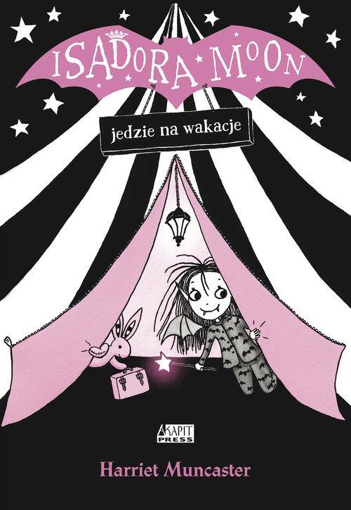 Isadora Moon jedzie na wakacje - okładka książki