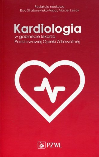Kardiologia w gabinecie lekarza - okładka książki