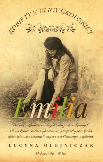 Kobiety z ulicy Grodzkiej. Emilia - okładka książki