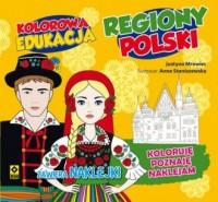 Kolorowa edukacja. Regiony Polski - okładka książki