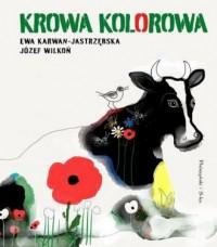 Krowa kolorowa - okładka książki