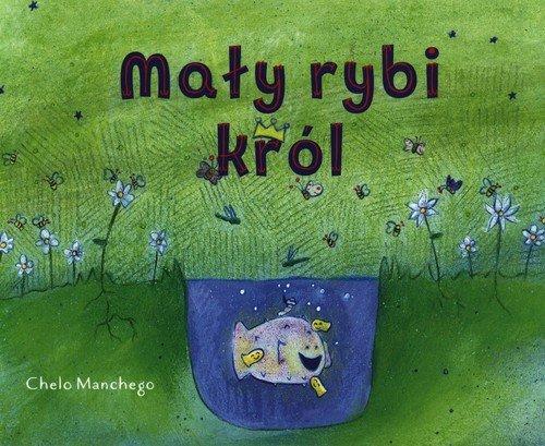 Mały rybi król - okładka książki