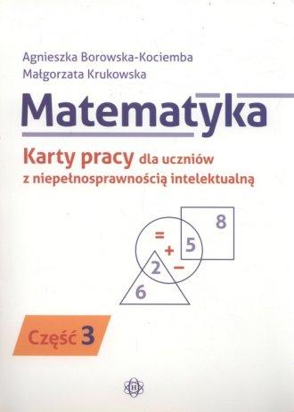 Matematyka. Karty pracy dla uczniów - okładka książki