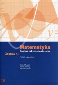 Matematyka. Próbne arkusze maturalne. - okładka podręcznika