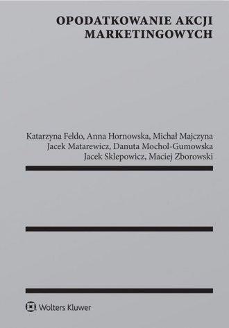 Opodatkowanie akcji marketingowych - okładka książki