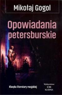 Opowiadania petersburskie - okładka książki
