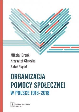 Organizacja pomocy społecznej w - okładka książki