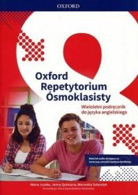 Oxford. Repetytorium Ósmoklasisty. Język angielski. Podręcznik wieloletni - okładka podręcznika