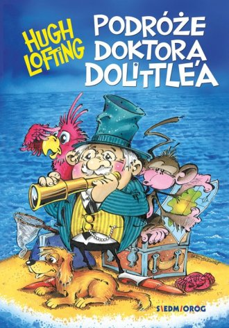Podróże doktora Dolittle a - okładka książki