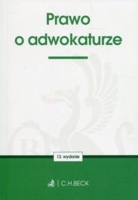 Prawo o adwokaturze - okładka książki