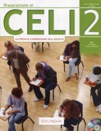 Preparazione al CELI 2 + CD. B1 - okładka podręcznika