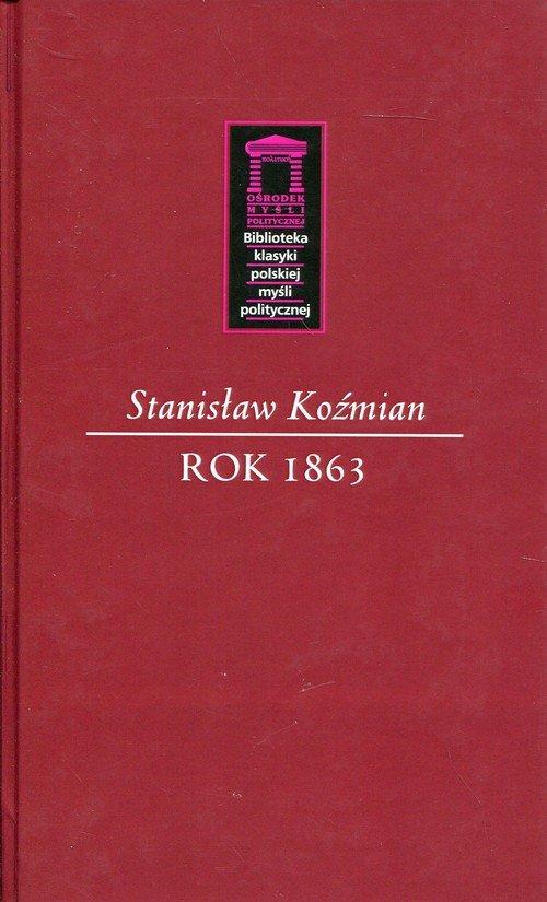 Rok 1863. Seria: Biblioteka klasyki - okładka książki